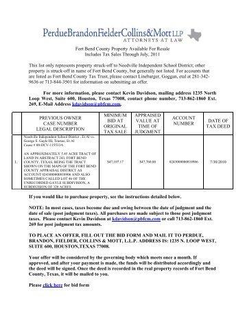 Matagorda County Property Tax