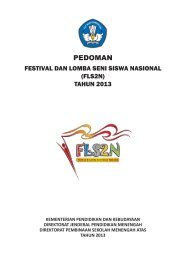 Pedoman FLS2N 2013.pdf - Direktorat Pembinaan SMA