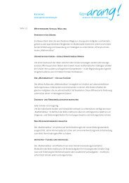 Text Mailing als PDF zum Download - Agentur Tatendrang
