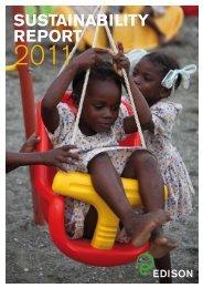 Sustainability Report 2011 - Edison