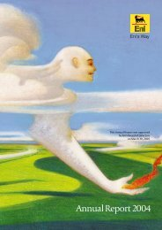 2004 Annual Report - Eni