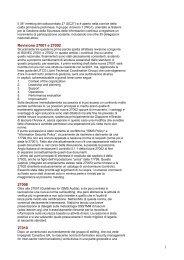 1 Revisione 27001 e 27002 27008 27010 - IsacaRoma