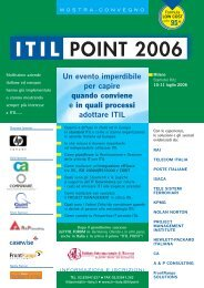 itil point 2006 - ISACA Roma