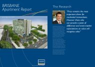 BRISBANE Apartment Report