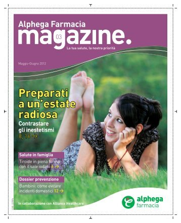 magazine. - Area Riservata - Alliance Healthcare
