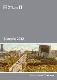 Bilancio 2012 - Banca CR Firenze