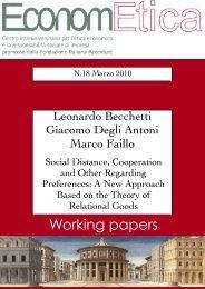 WP 18 March 2010 - Econometica