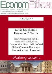 WP 21 July 2010 - Econometica