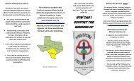 a link to our MO&JC Brochure. - Mission Presbytery