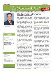 Ausgabe August - CDU Leisnig