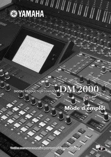 DM2000 V2_F Mode d'emploi - Impact Evenement