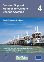Real Options Analysis - Mediation