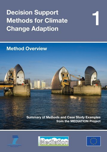 Summary of Methods and Case Study Examples from ... - Mediation