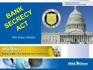 Closing Session: Bank Secrecy Act for Board Members