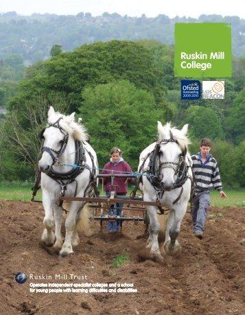 The Student - Ruskin Mill Trust