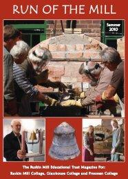 RUN OF THE MILL - Ruskin Mill Trust
