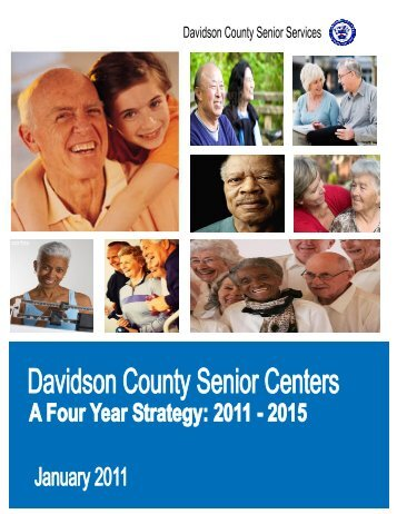 senior center strategic plan.pub - Davidson County, NC