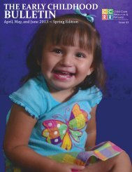 BULLETIN - Arizona Child Care Resource and Referral
