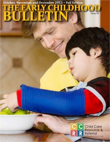 the early childhood bulletin - Child & Family Resources