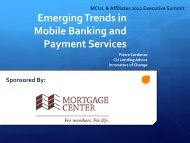 Emerging Trends in Mobile Banking and Payment Services