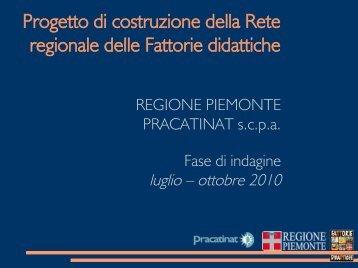 Esiti indagine - Piemonte Agri