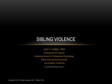 Sibling Violence - Pal-Tech