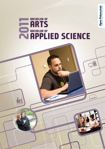 Applied Science ArtS - Open Polytechnic