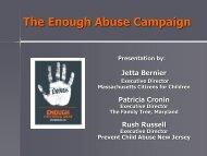 The Enough Abuse Campaign - Pal-Tech