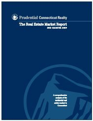 The Real Estate Market Report - Prudential Connecticut Realty