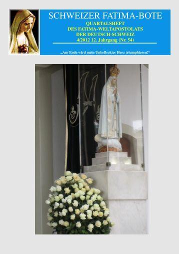 54 (2012/4) - Fatima-Weltapostolat
