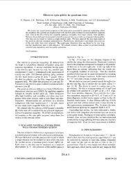 Electron spin qubits in quantum dots - Vandersypen Lab in Quantum ...