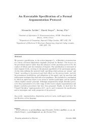 An Executable Specification of a Formal Argumentation Protocol