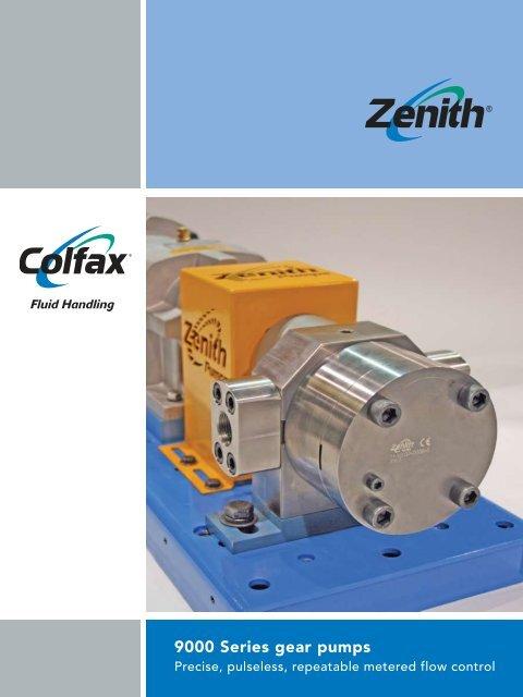 9000 Series gear pumps - Colfax Corporation