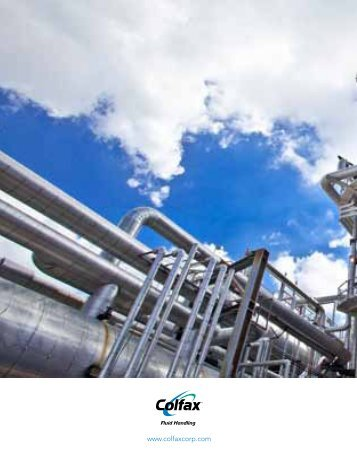 Colfax Chemical Processing Market Solutions - Colfax Corporation