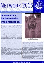 Issue II.pdf - Earth Summit 2002