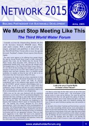 Issue III.pdf - Earth Summit 2002