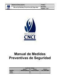 Manual de Medidas Preventivas de Seguridad
