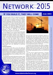 Issue V.pdf - Earth Summit 2002