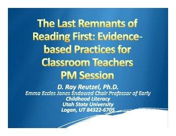 Last Remants - Emma Eccles Jones Center - Utah State University