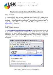 Telepítési útmutató a SMART Notebook 10 SP1 szoftverhez