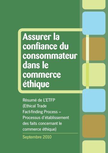ETFP Summary FR - Consumers International