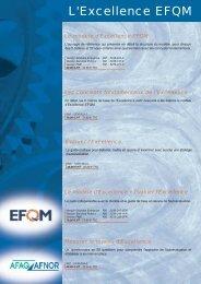 Les publications EFQM : ouvrages, bon de commande - Juin ... - Afnor