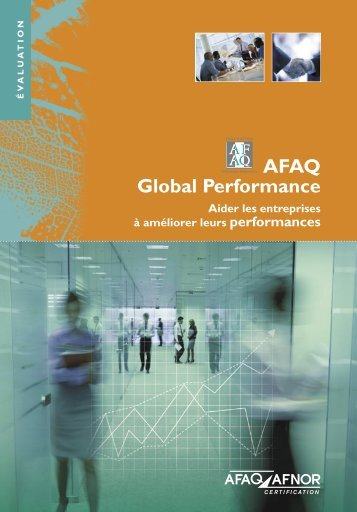 AFAQ AFNOR Certification - AFAQ Global Performance, prestation d ...