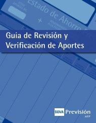 Guia de Revisión y Verificación de Aportes