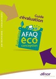 AFNOR Certification - AFAQ Eco-conception : guide d'évaluation ...