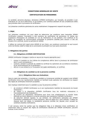 Afnor certification afaq eco conception guide d 39 for Contrat de conception construction