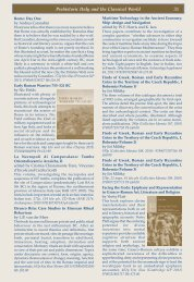 The Classical World; Ancient Greece - Oxbow Books