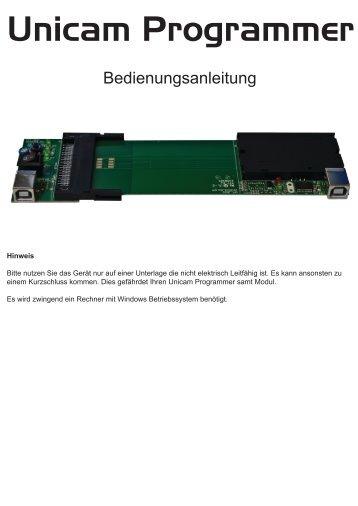 Unicam Programmer