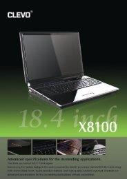 X8100 - Clevo