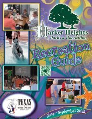 clicking here - City of Harker Heights, Texas